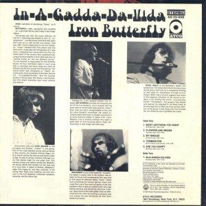 IRON BUTTERFLY 1968 B