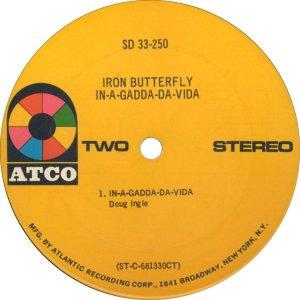 IRON BUTTERFLY 1968 D