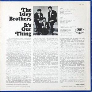 ISLEY BROTHERS 1969 B