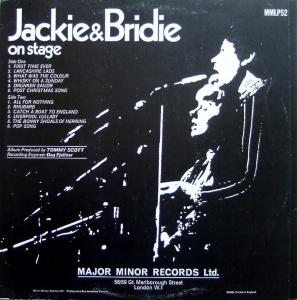 JACKIE & BRIDIE 1969 B