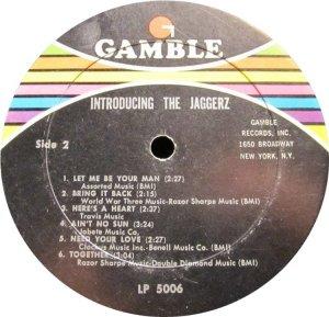 JAGGEREZ 1969 D