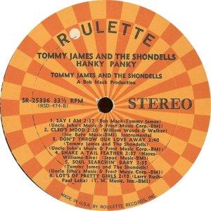 JAMES TOMMY SHONDELLS 1966 D