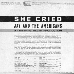 JAY AMERICANS 1962 B