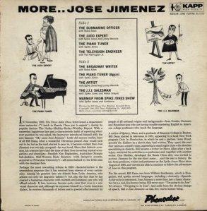JIMENEZ JOSE 1960 B