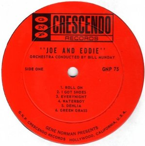 JOE AND EDDIE 1963 C