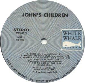 JOHN'S CHILDREN 1970 C