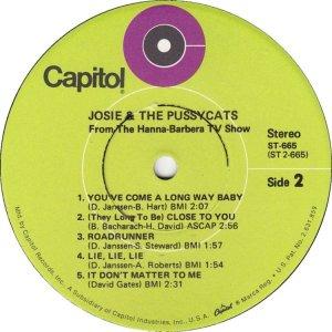 JOSIE PUSSYCATS 1970 D