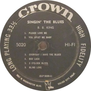 KING BB 1957 D