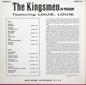 KINGSMEN 1963 B