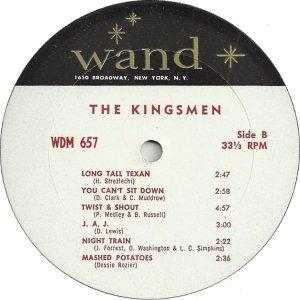 KINGSMEN 1963 D