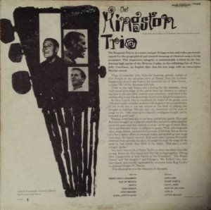 KINGSTON TRIO 1958 B