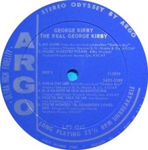 KIRBY GEORGE 1965 D