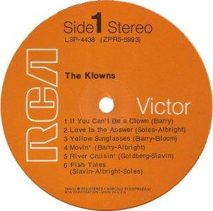 KLOWNS 1970 C