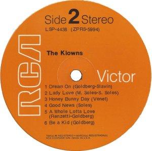 KLOWNS 1970 D