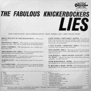 KNICKERBOCKERS 1966 B