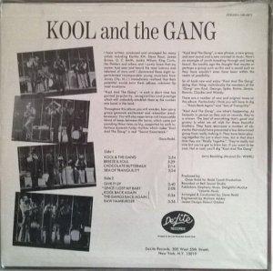 KOOL AND GANG 1970 B