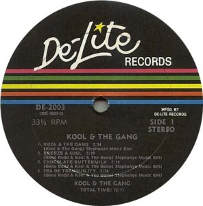 KOOL AND GANG 1970 C
