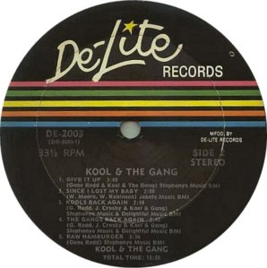KOOL AND GANG 1970 D