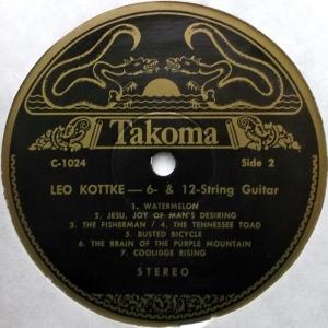 KOTTKE LEO 1969 D