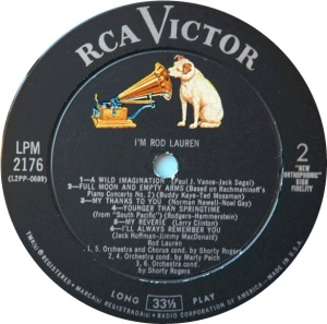LAUREN ROD 1961 D