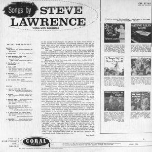 LAWRENCE STEVE 1957 B