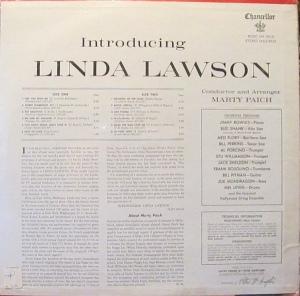 LAWSON LINDA 1961 B