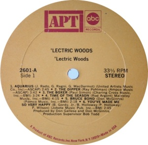 LECTRIC WOODS 1969 C