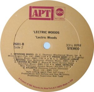 LECTRIC WOODS 1969 D