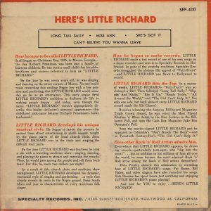 LITTLE RICHARD 1957 02 B
