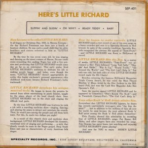 LITTLE RICHARD 1957 03 B