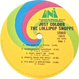 LOLLIPOP SHOPPE 1968 C