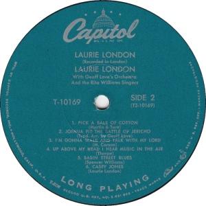 LONDON LAURIE 1958 D
