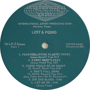 LOST AND FOUND 1968 C