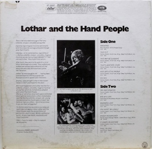 LOTHER HAND PEOPLE 1968 B