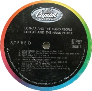 LOTHER HAND PEOPLE 1968 C