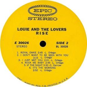 LOUIE LOVERS 1968 D