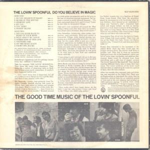 LOVIN SPOONFUL 1965 B
