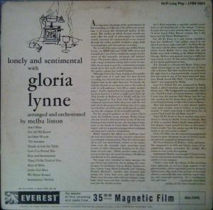 LYNNE GLORIA 1959 B