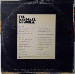 MANDRAKE MEMORIAL 1968 B