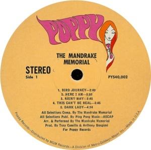 MANDRAKE MEMORIAL 1968 C