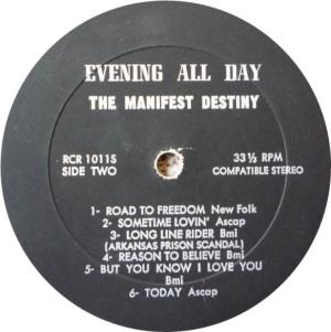 MANIFEST DESTINY 1969 D