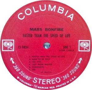 MARS BONFIRE 1969 C
