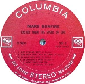 MARS BONFIRE 1969 D