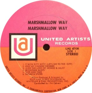 MARSHMALLOW WAY 1969 C