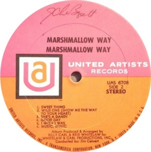 MARSHMALLOW WAY 1969 D