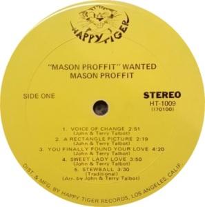 MASON PROFIT 1969 C