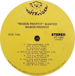 MASON PROFIT 1969 D