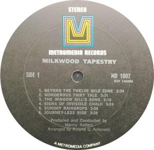 MILKWOOD TAPESTRY 1969 C