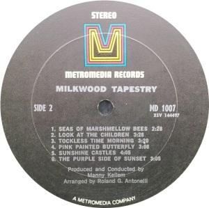 MILKWOOD TAPESTRY 1969 D