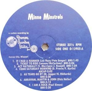 MINNIE MINSTRELS 1969 C